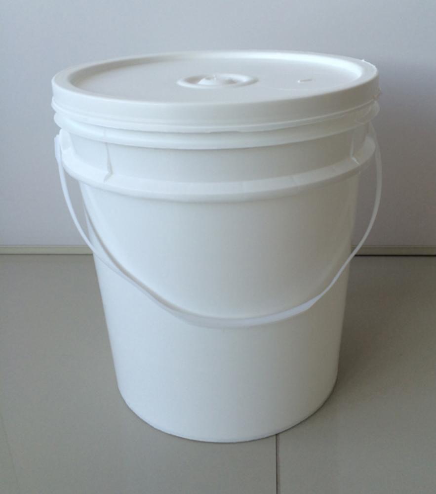 Balde Alimentício Branco 12,5 Litros  - Lojão de Ofertas