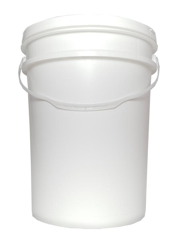 Balde Alimentício Branco 22 Litros  - Lojão de Ofertas