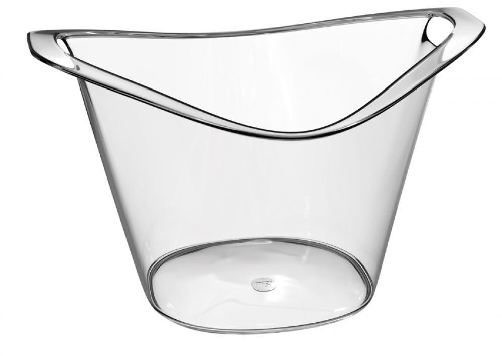 Balde de Gelo Gold 3 litros - Transparente - UZ Utilidades  - Lojão de Ofertas