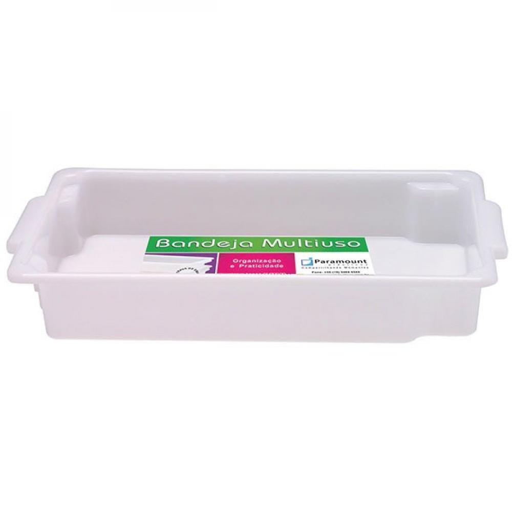 Bandeja Plástica Nº 1 - 33 x 21 x 5 cm - 2,6 litros - Paramount  - Lojão de Ofertas