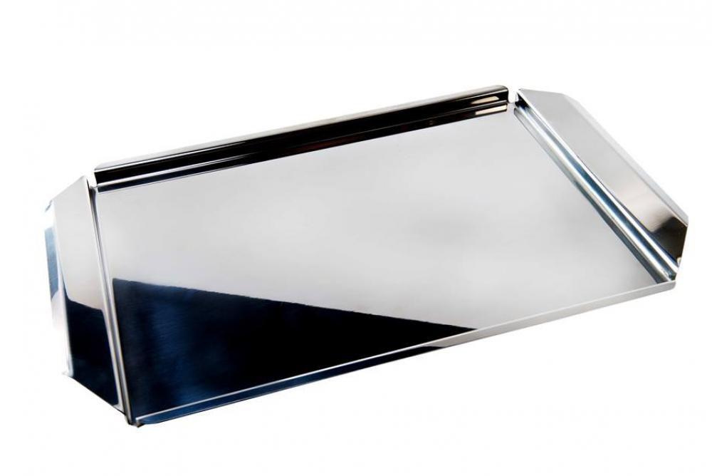 Bandeja Prime Inox 40 x 25 cm - Domama  - Lojão de Ofertas