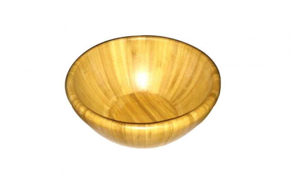 Bowl Médio de Bambu - Multiflon  - Lojão de Ofertas