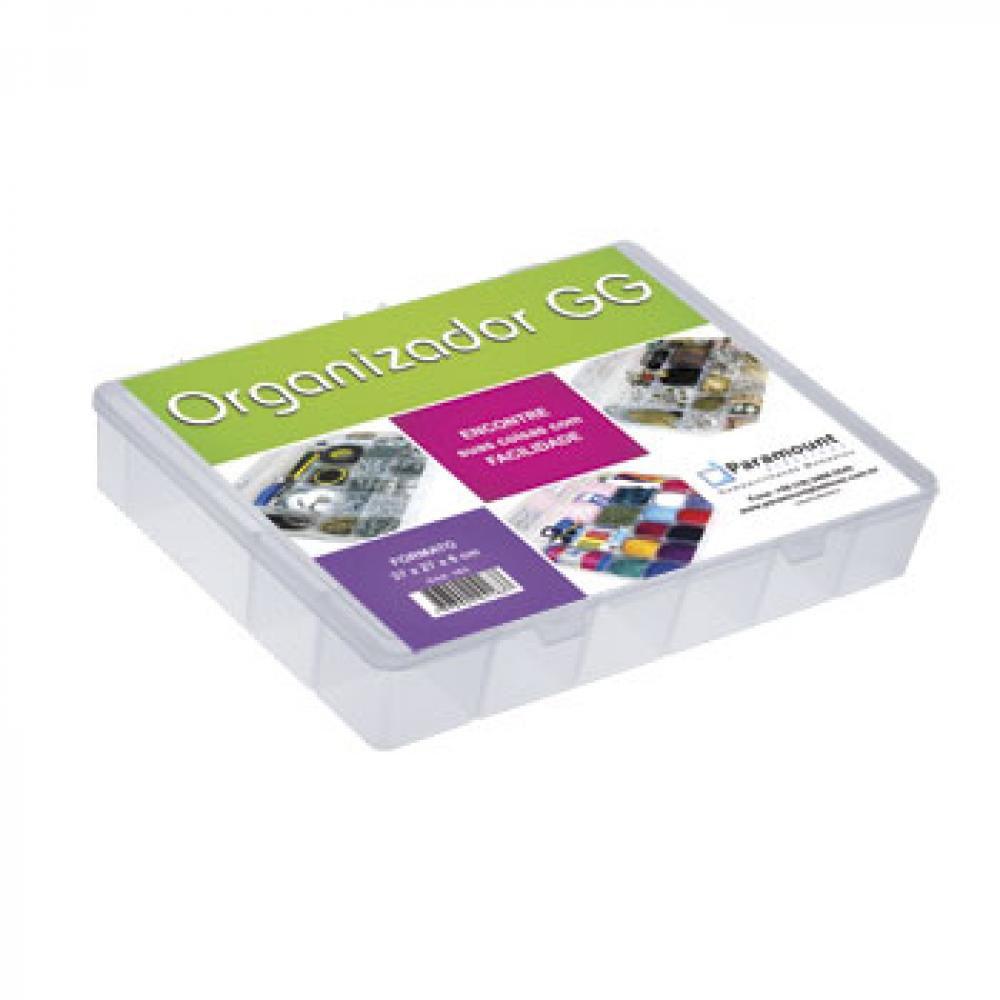 Box Organizador GG 37 x 27 x 6 cm - Paramount  - Lojão de Ofertas