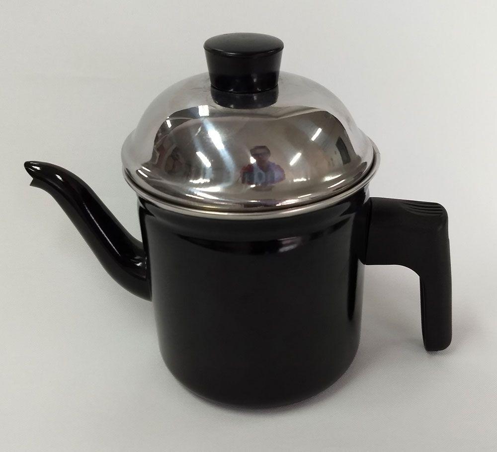 Bule Esmaltado 0,8 litros - Arasul  - Lojão de Ofertas