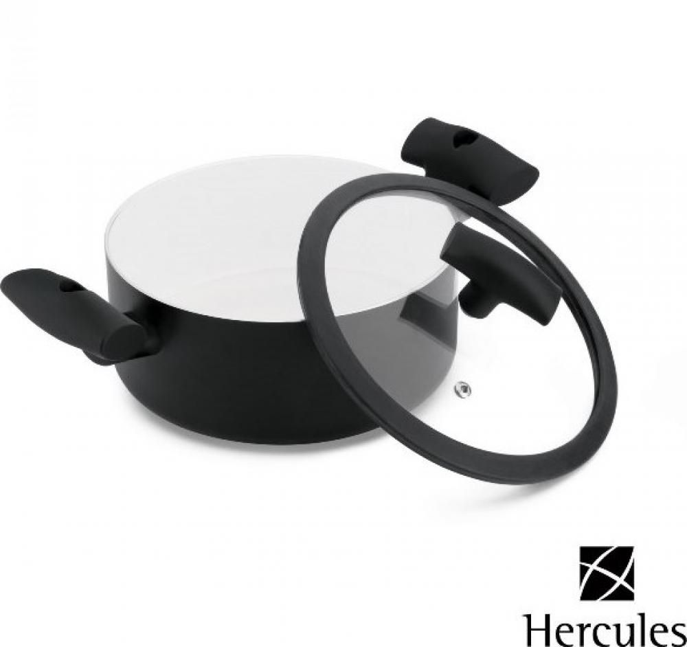 Caçarola 20 cm - 3 Litros - c/ Alças - Hercules  - Lojão de Ofertas