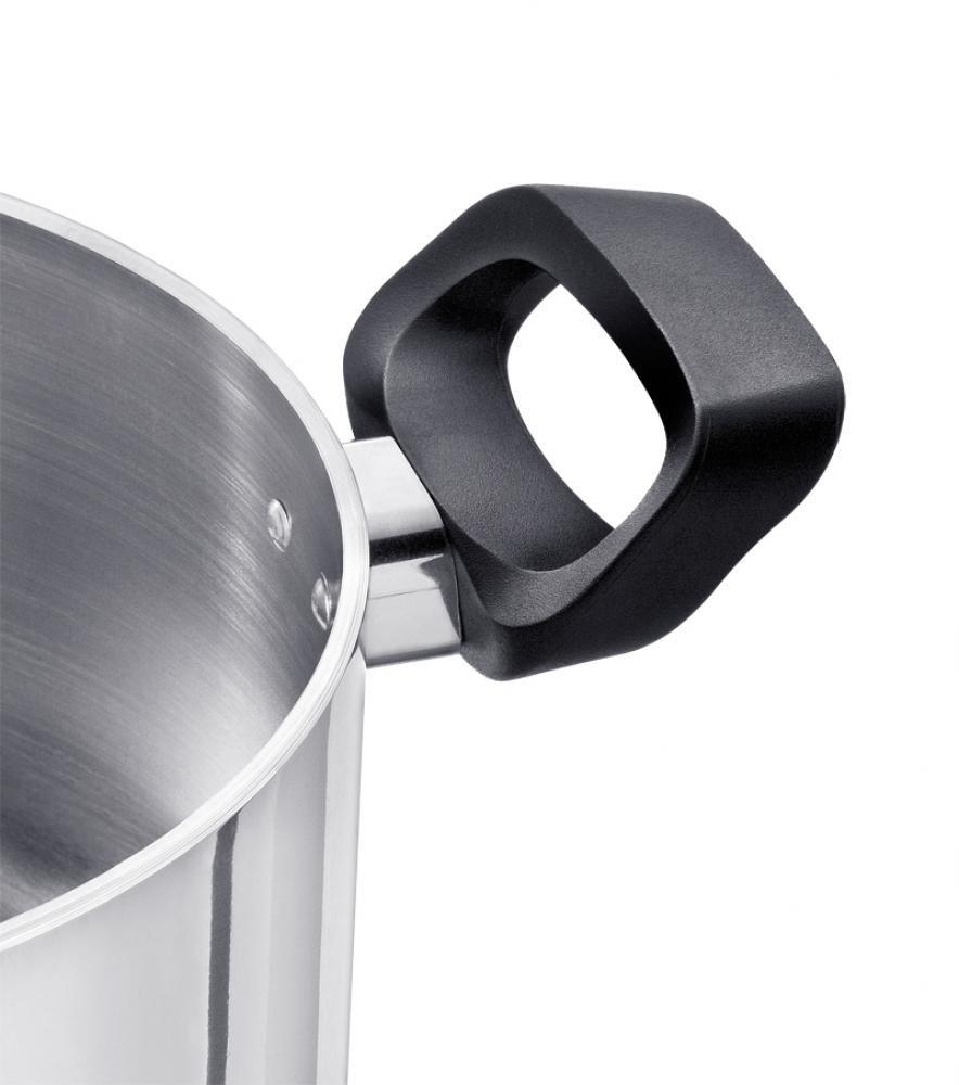 Caçarola 16 cm - 3 mm Espessura - com Alças - Linha Artesanal - Alumínio ABC  - Lojão de Ofertas