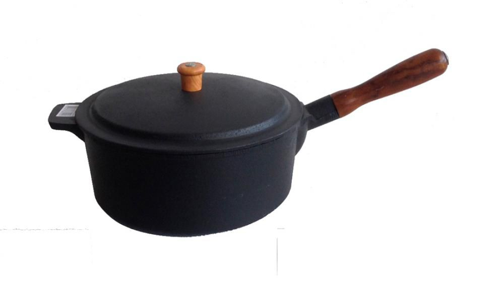 Caçarola de Ferro 22 cm - 3 litros - CB  - Lojão de Ofertas