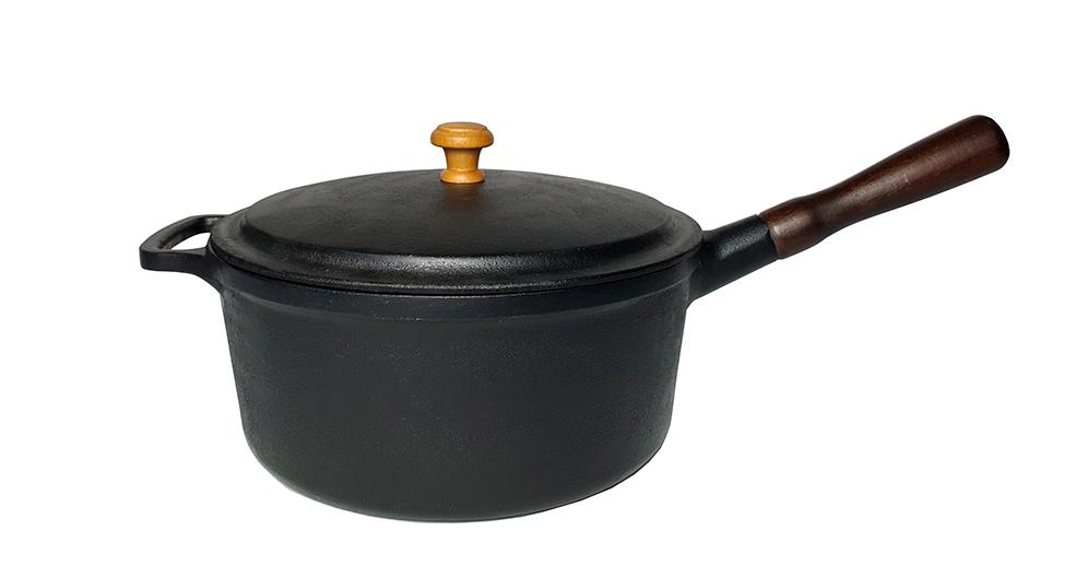 Caçarola de Ferro 24 cm - 4 litros - CB  - Lojão de Ofertas