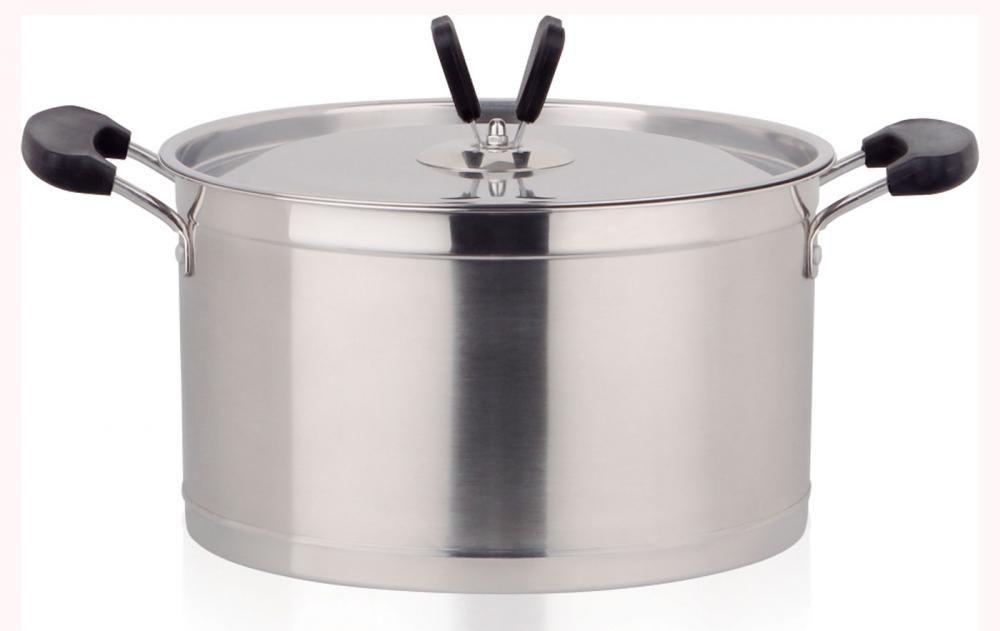 Caçarola Inox 22 cm - 4,4 litros - GP Inox  - Lojão de Ofertas