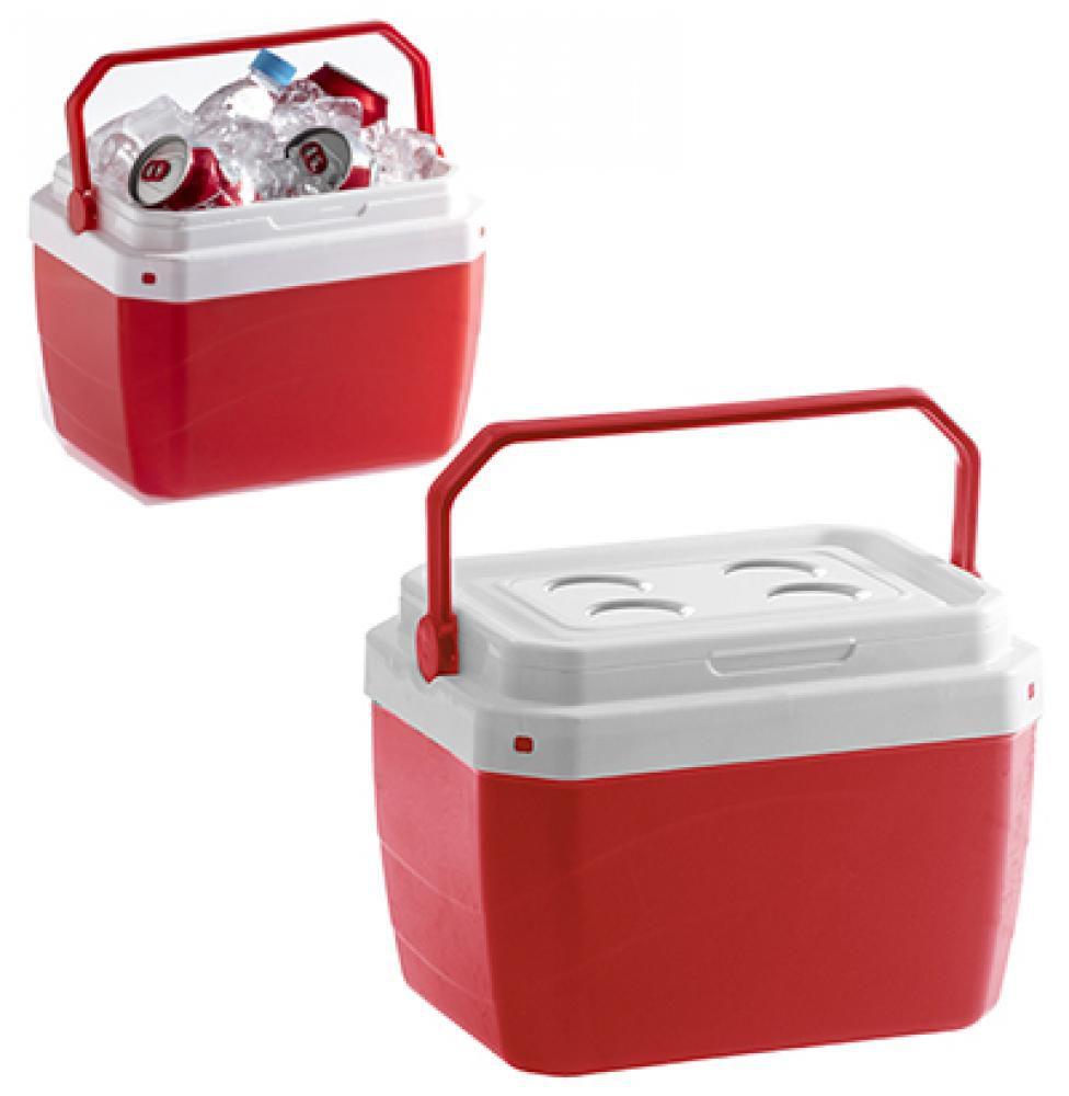 Caixa Térmica 17 litros Vermelha - Paramount  - Lojão de Ofertas