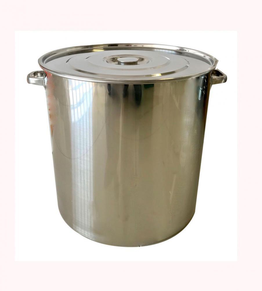 Caldeirão Inox 40 cm - 48 litros  - Lojão de Ofertas