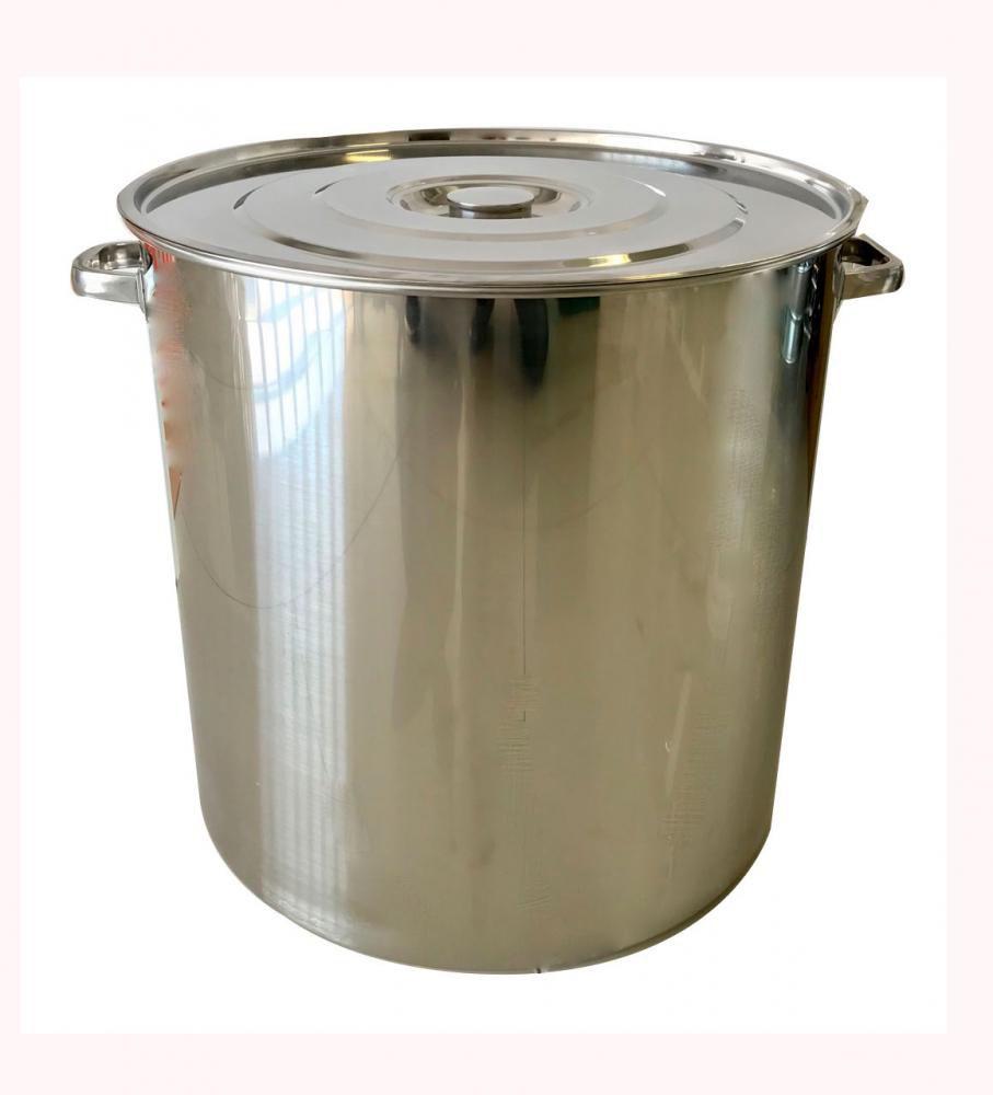 Caldeirão Inox 50 cm - 95 litros  - Lojão de Ofertas