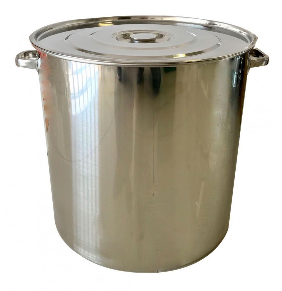 Caldeirão Inox 55 cm - 125 litros  - Lojão de Ofertas