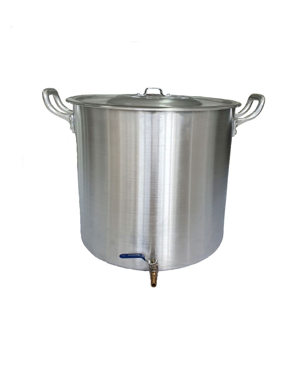 Caldeirão Cervejeiro 68,3 litros - 45 cm - com Registro - Alumínio ABC  - Lojão de Ofertas