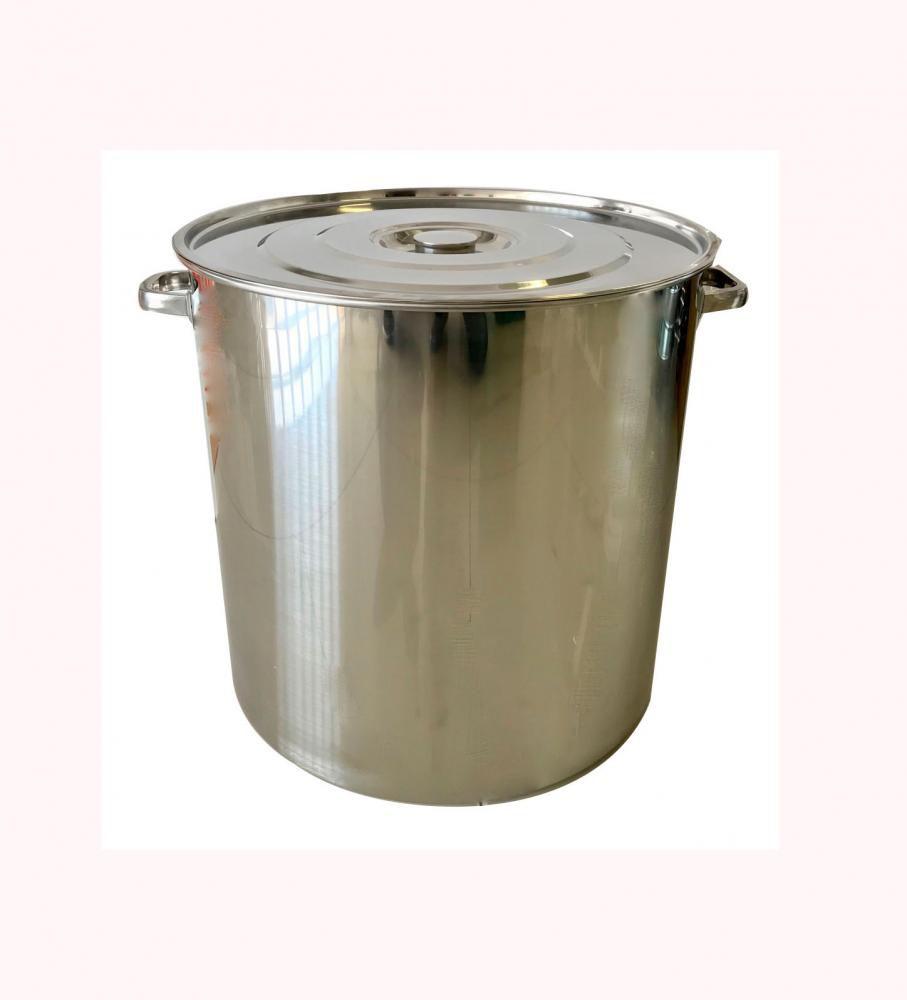Caldeirão Inox 30 cm - 20 litros  - Lojão de Ofertas