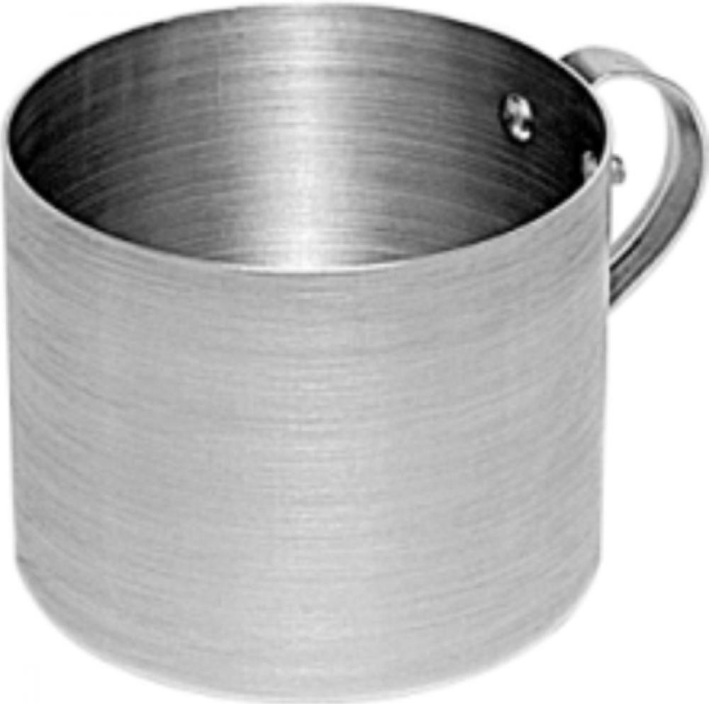 Caneca 10 cm - Alumínio Lixado - Royal  - Lojão de Ofertas