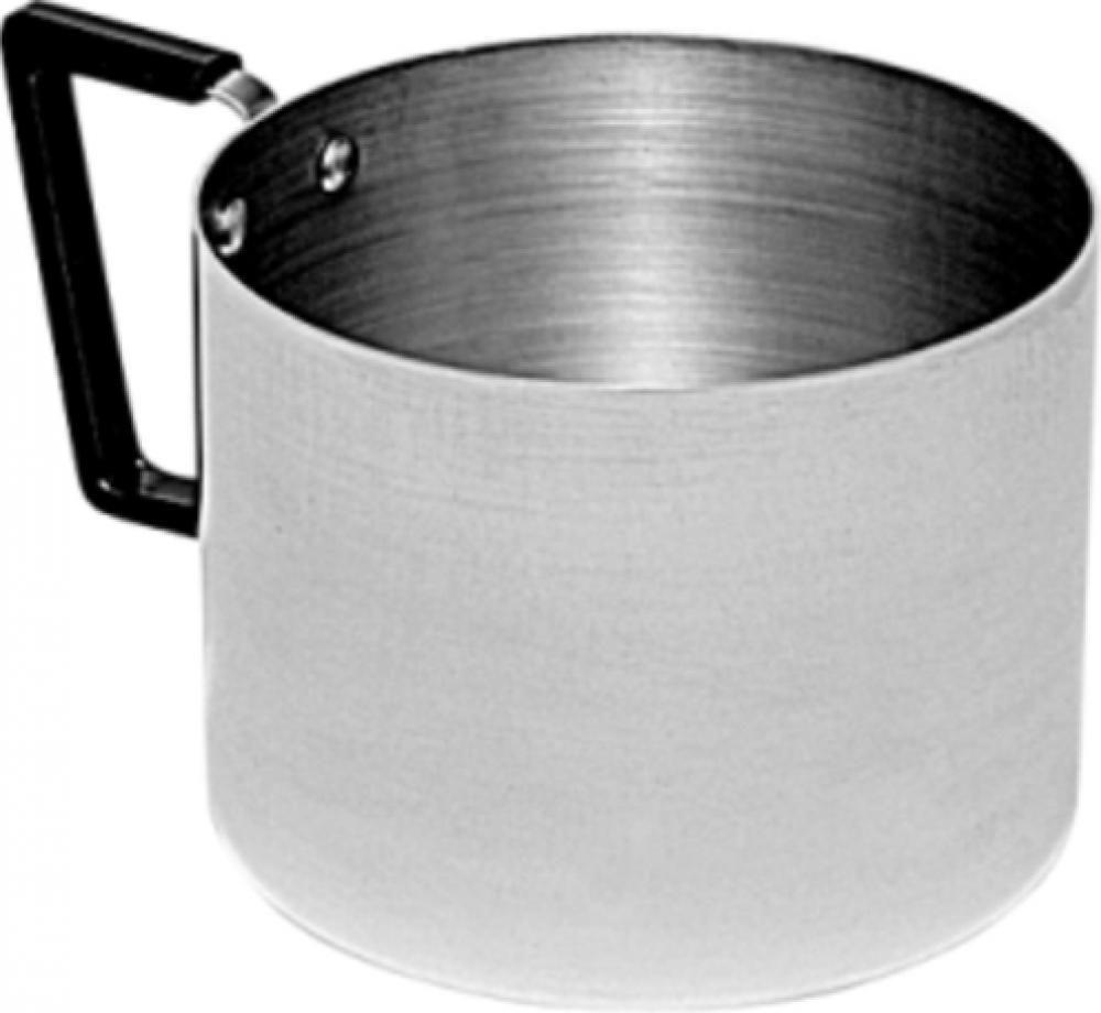 Caneca 12 cm - Alumínio Polido - Royal  - Lojão de Ofertas