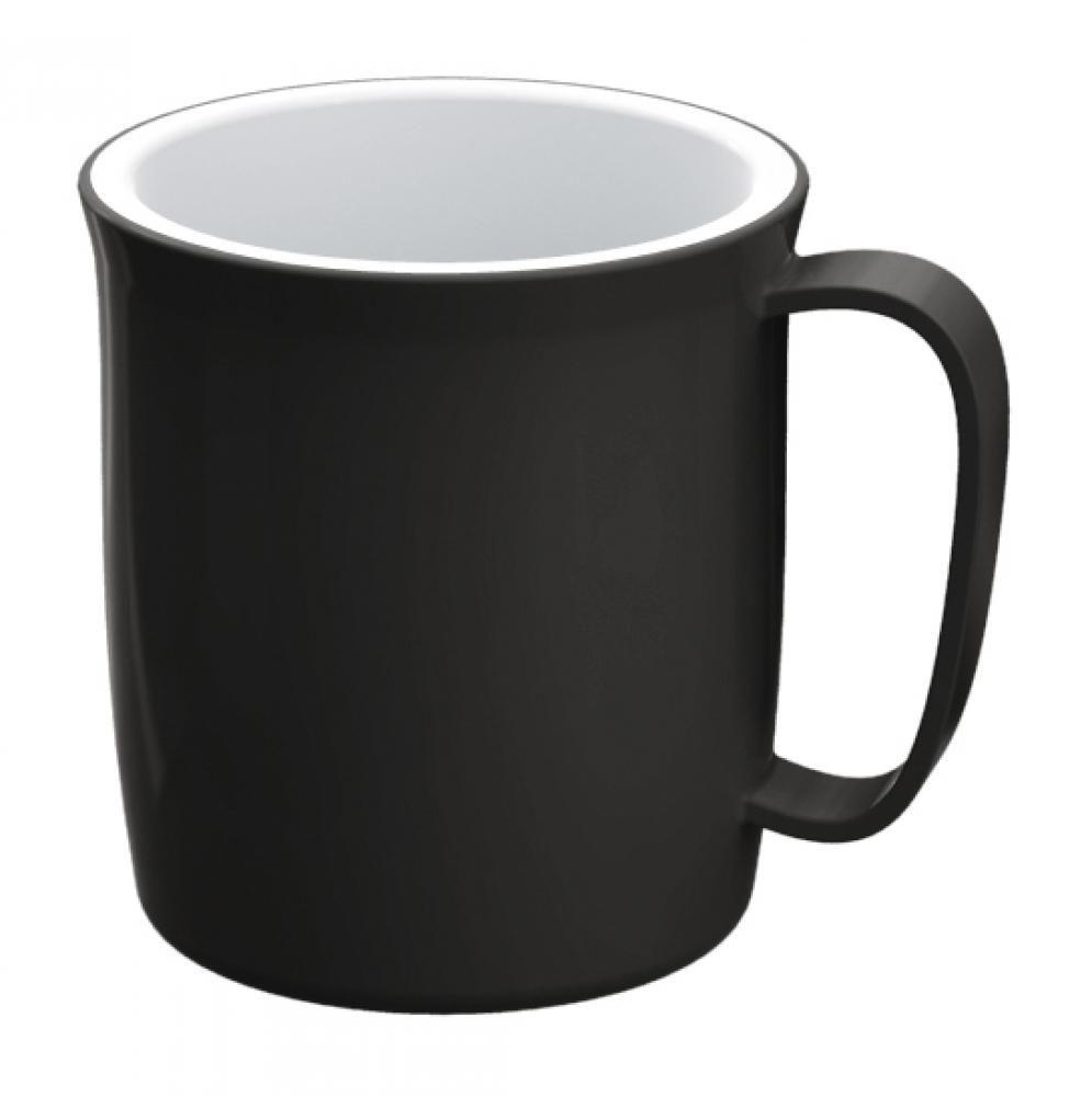 Caneca Térmica 400 ml - Preta - UZ Utilidades  - Lojão de Ofertas