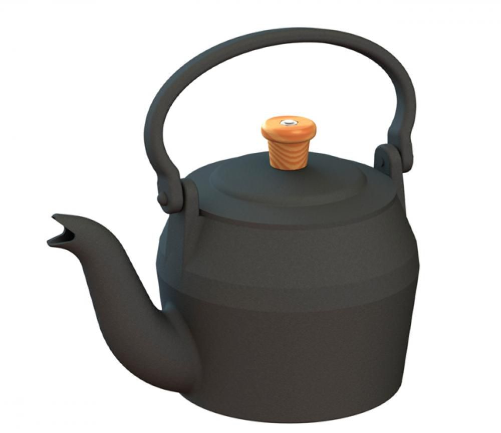 Chaleira de Ferro 1,5 litros - CB  - Lojão de Ofertas