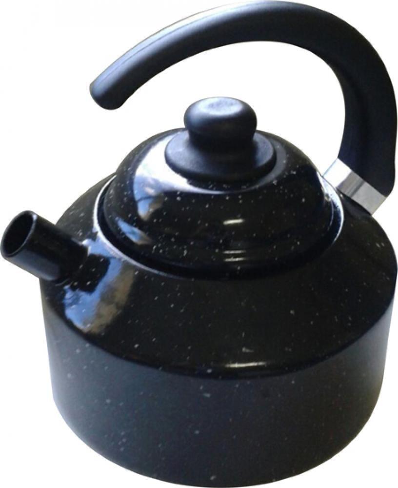 Chaleira Esmaltada 16 cm - 2 litros - Esmaltados Silva  - Lojão de Ofertas