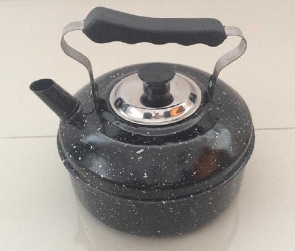 Chaleira Esmaltada 2 litros - Arasul  - Lojão de Ofertas