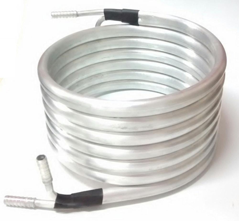 Chiller Tubular de Contra-Fluxo em Alumínio - 7,5 metros  - Lojão de Ofertas