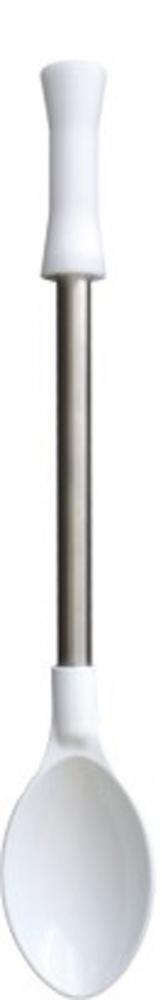 Colher de Poliamida 50 cm - Cabo Inox - Kitplas  - Lojão de Ofertas