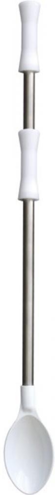 Colher de Poliamida 80 cm - Cabo Inox - Kitplas  - Lojão de Ofertas