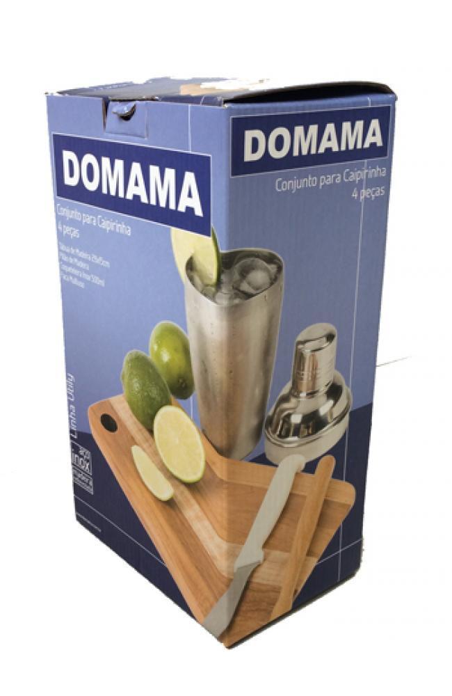 Conjunto para Caipirinha 4 peças - Domama  - Lojão de Ofertas