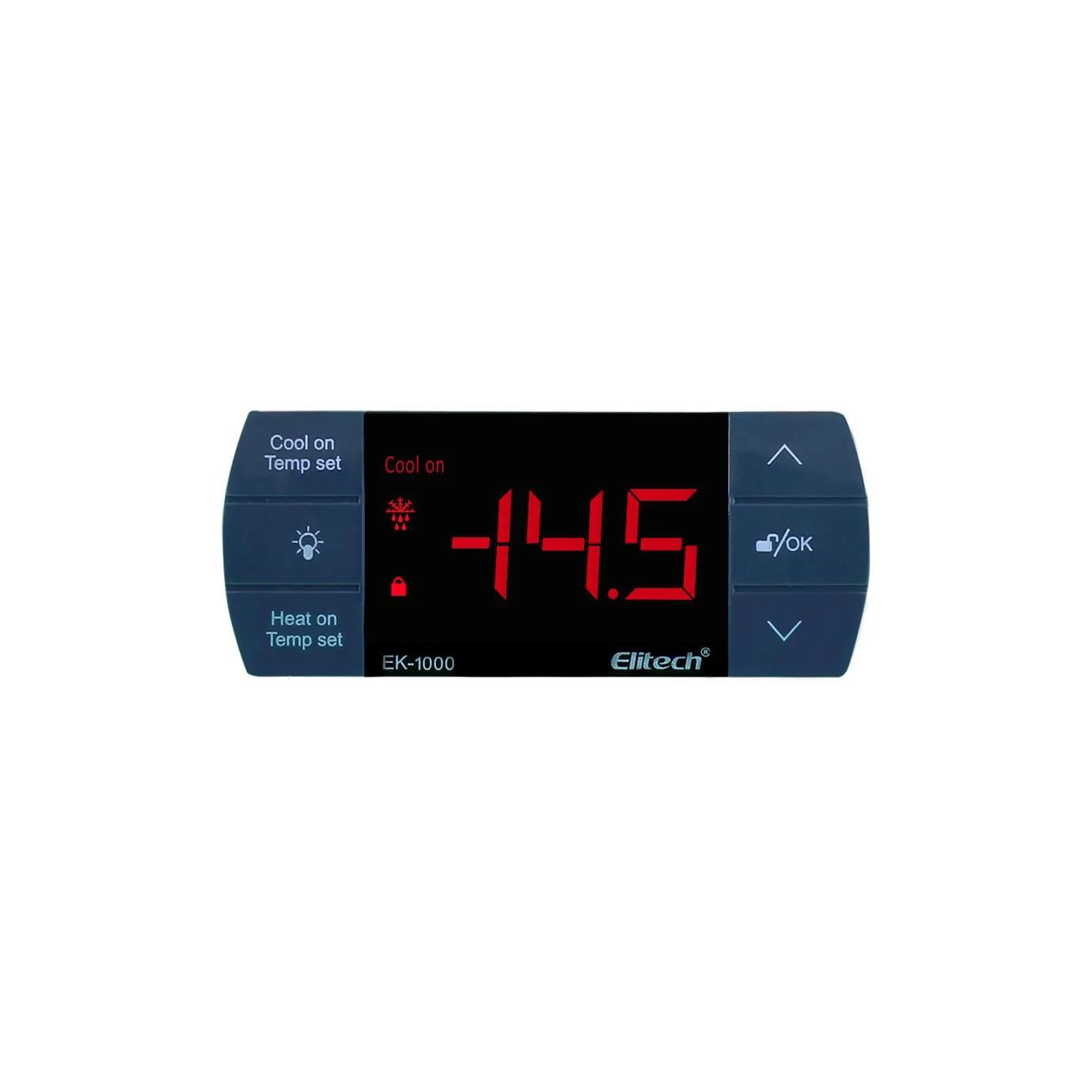 Controlador de Temperatura - 2 Estágios - EK-1000 - Elitech   - Lojão de Ofertas