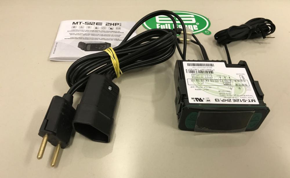 Controlador de Temperatura Termostato MT512E 2HP - Com Ligação 110v - Full Gauge  - Lojão de Ofertas