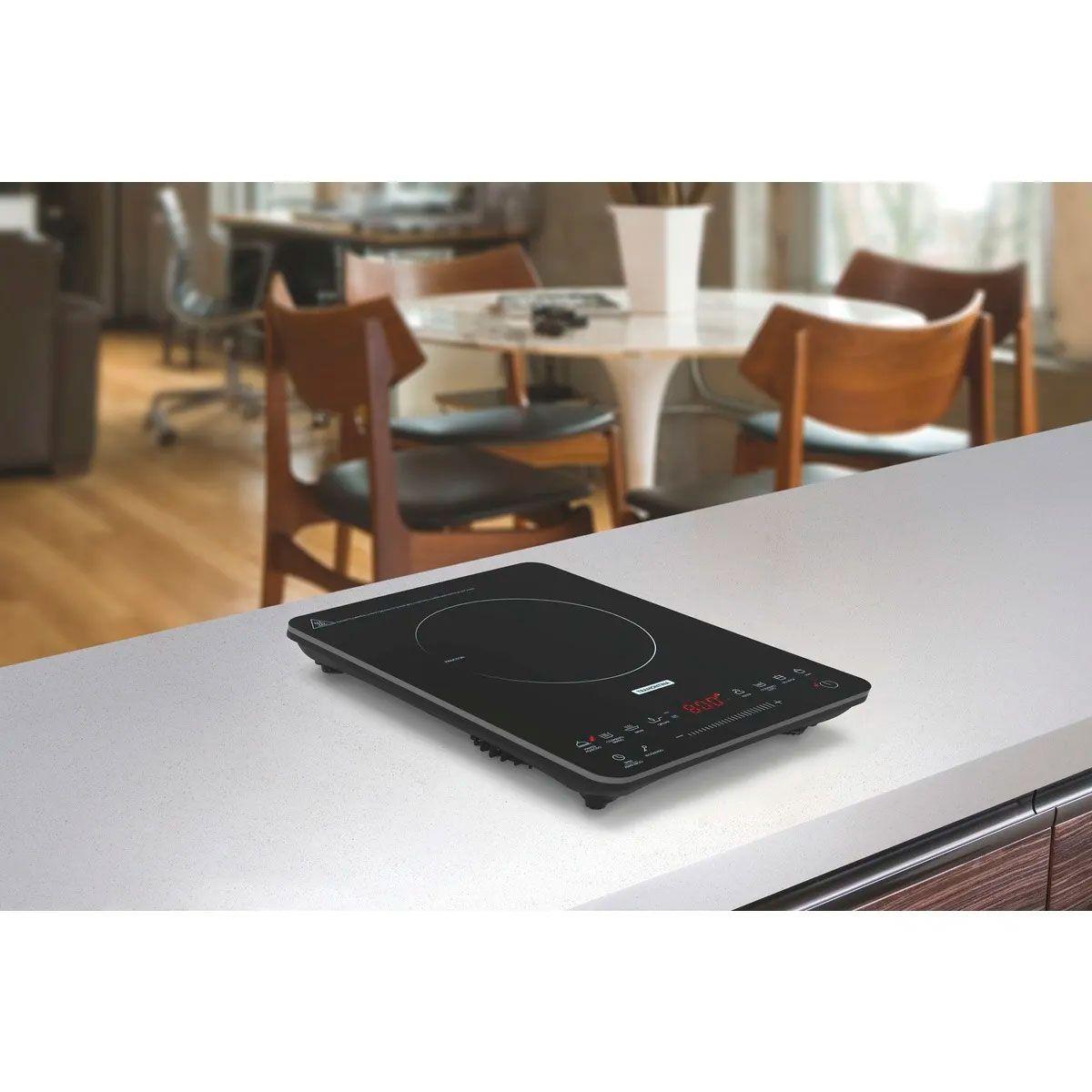 Cooktop Portátil por Indução - Slim Touch EI30 - Tramontina  - Lojão de Ofertas