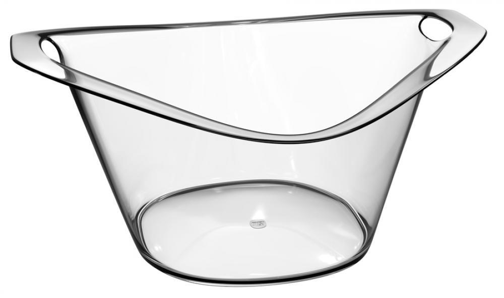 Cooler Gold 8 litros Transparente - UZ Utilidades  - Lojão de Ofertas