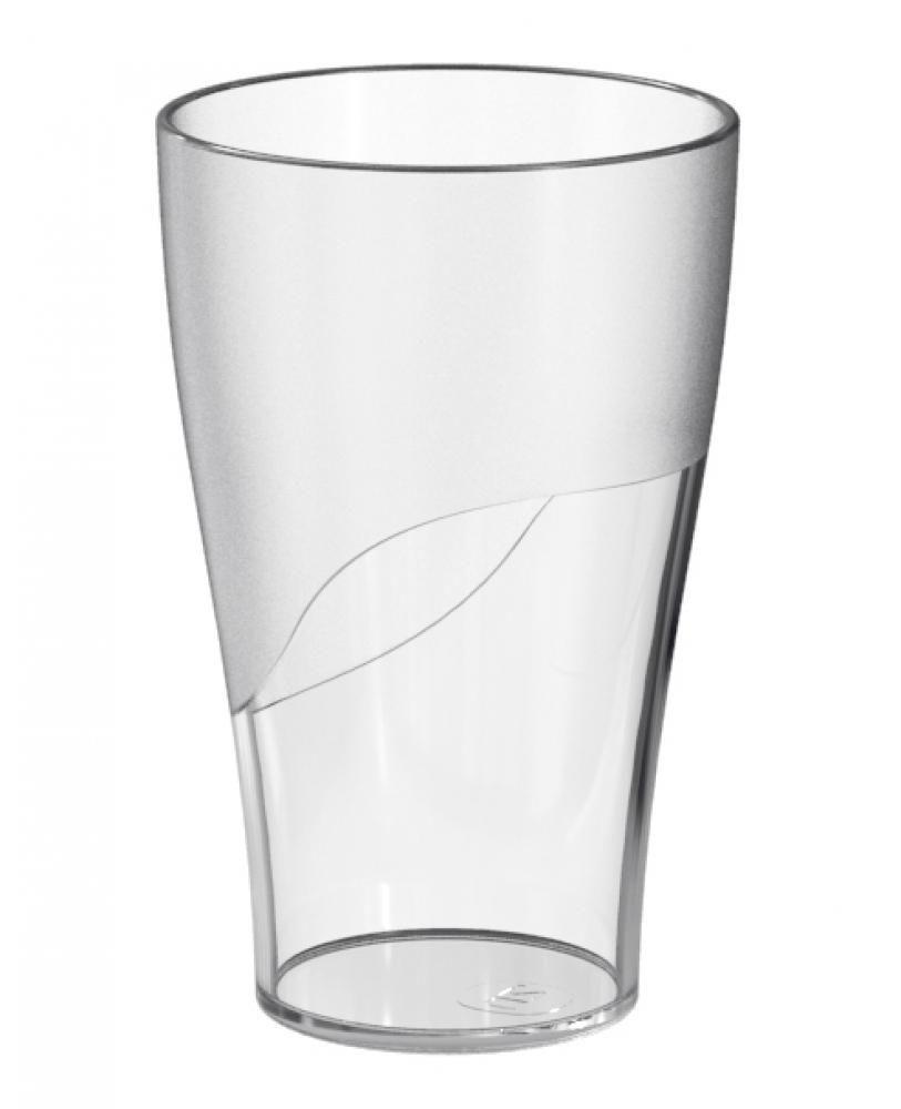 Copo 300 ml - Plástico Transparente - UZ Utilidades  - Lojão de Ofertas