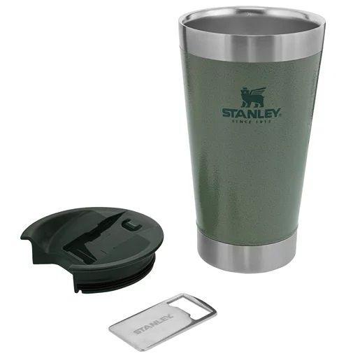 Copo Térmico 473 ml Verde - Classic - Stanley  - Lojão de Ofertas