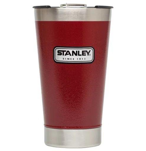 Copo Térmico 473 ml Vermelho - Classic - Stanley  - Lojão de Ofertas
