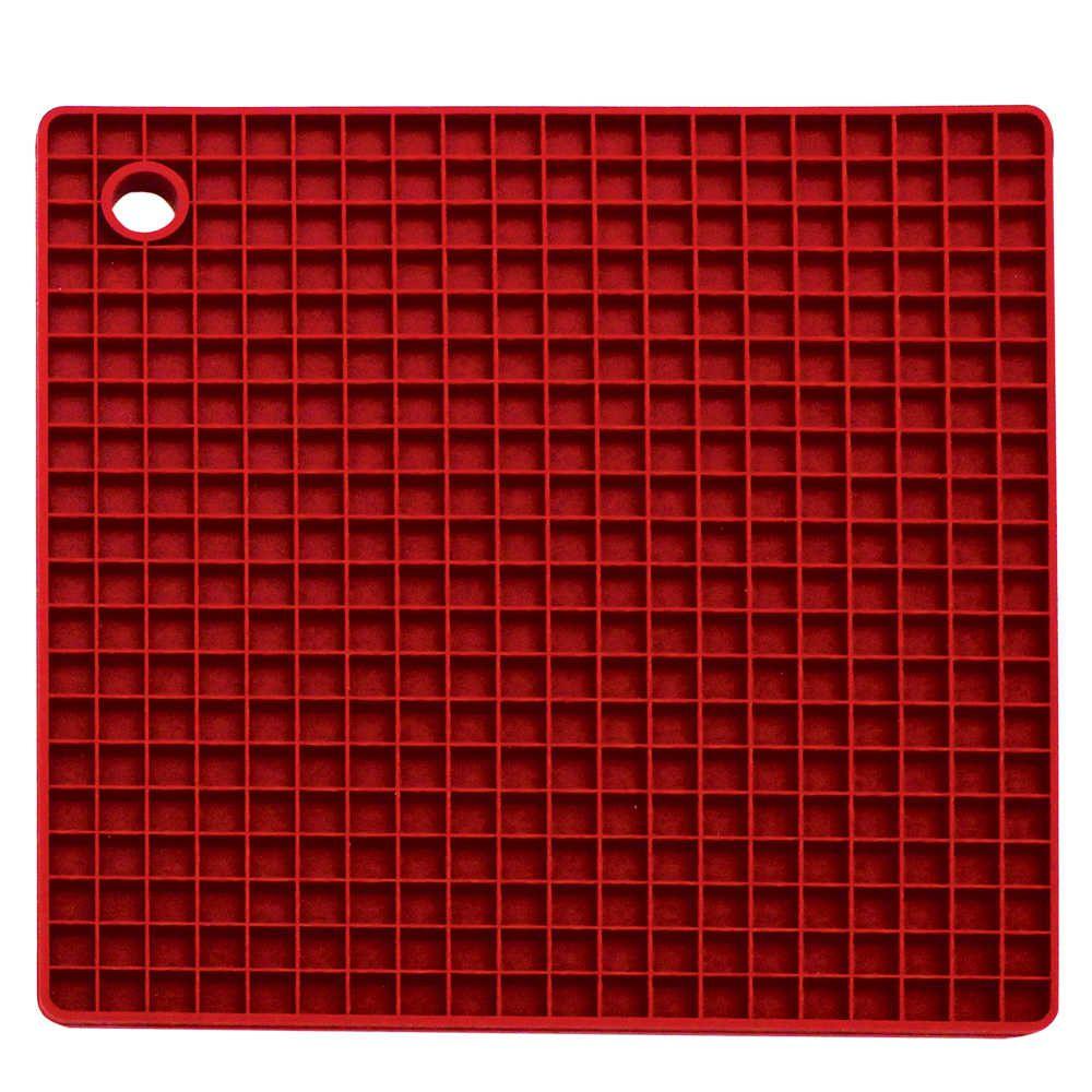 Descanso Panela Silicone Quadrado 17,5 cm - Yangzi  - Lojão de Ofertas