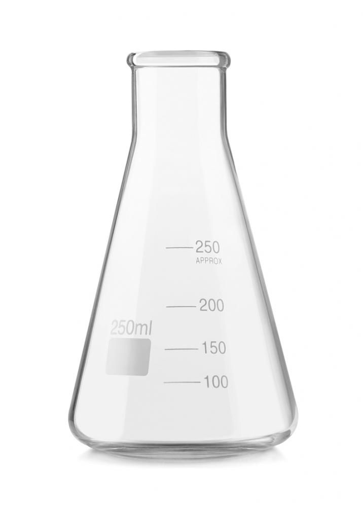 Erlenmeyer de Vidro 250 ml - Carvalhae  - Lojão de Ofertas