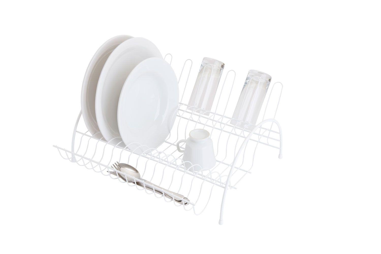 Escorredor de Louças Simples - Branco - Azzo  - Lojão de Ofertas