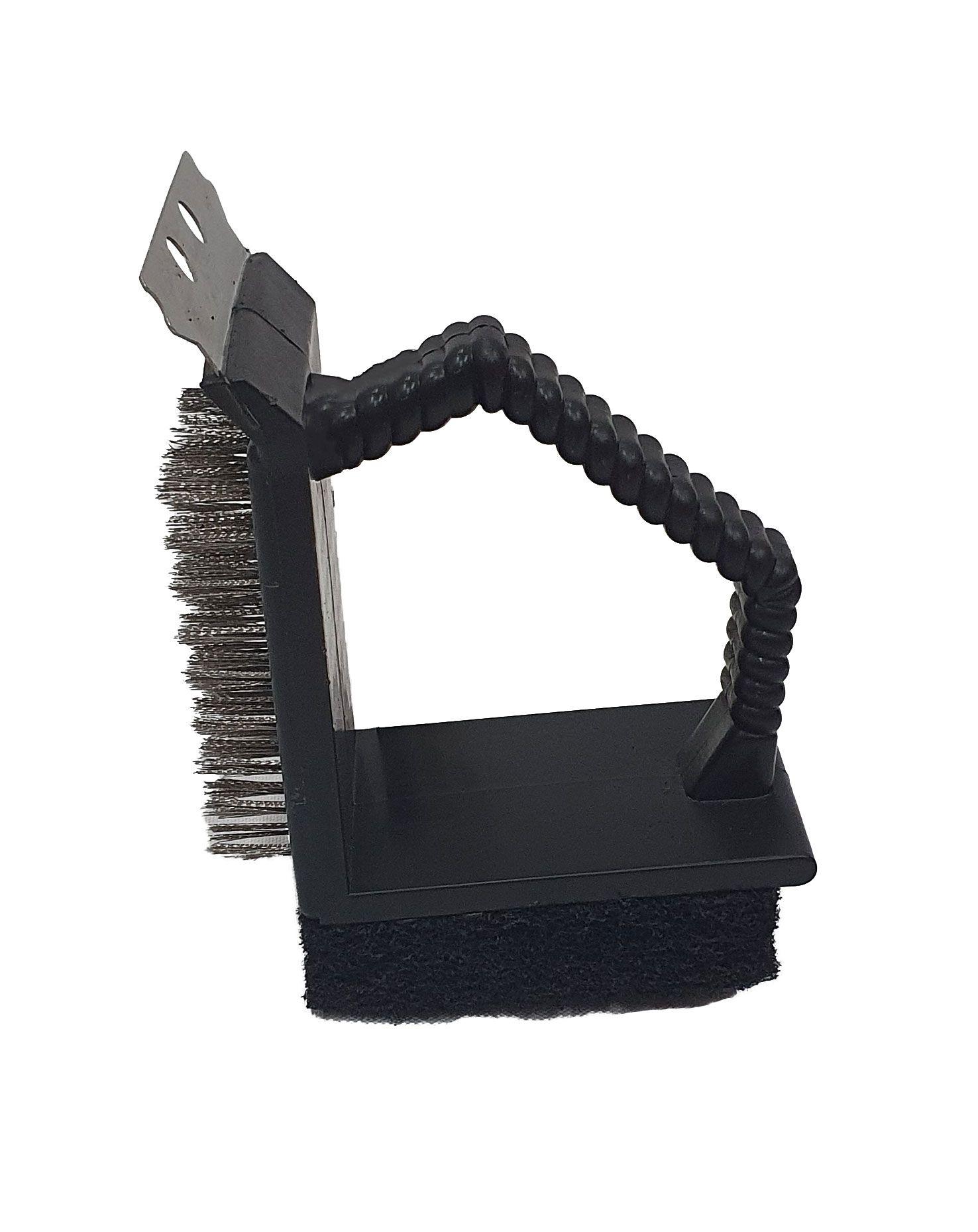 Escova de Limpar Grelha 3 em 1 - Mimo Style  - Lojão de Ofertas