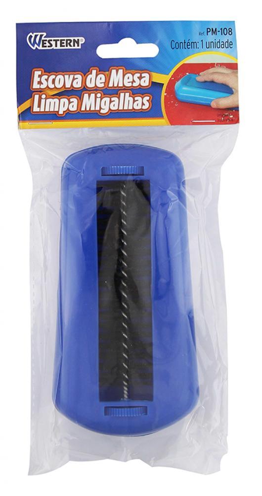 Escova Limpa Migalhas - 15 x 7 x 3,5 cm - Western  - Lojão de Ofertas