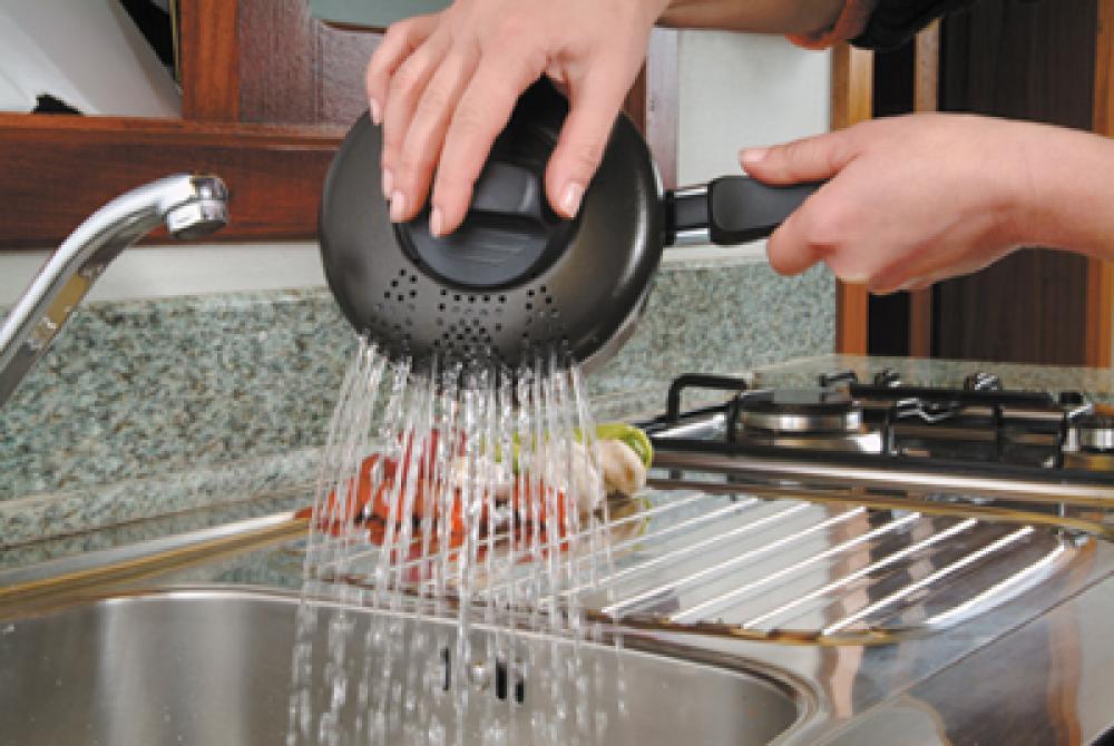 Espagueteira 14 cm Antiaderente - Multiflon  - Lojão de Ofertas