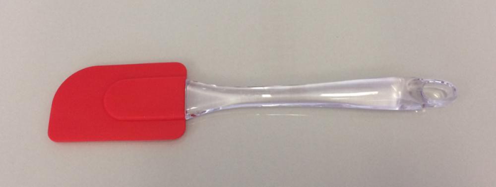 Espátula de Silicone 24,5 cm - GP Inox  - Lojão de Ofertas