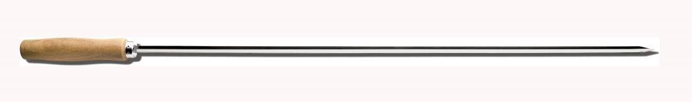 Espeto Coração Inox 85 cm - Taumer  - Lojão de Ofertas