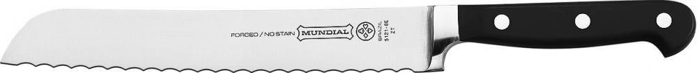 """Faca para Pão 8"""" - Linha Chef - Mundial  - Lojão de Ofertas"""