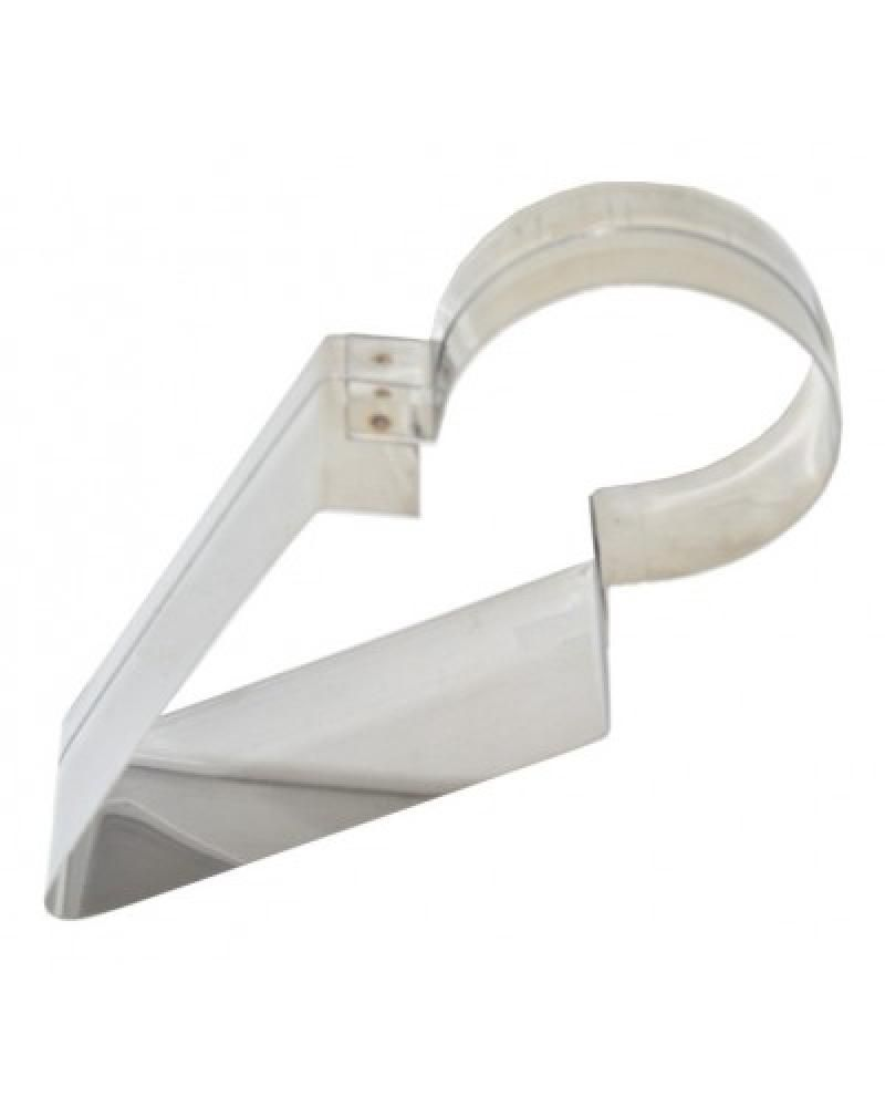 Fatiador e Pegador de Bolo Inox - 18,3 x 7,2 cm - Doupan  - Lojão de Ofertas