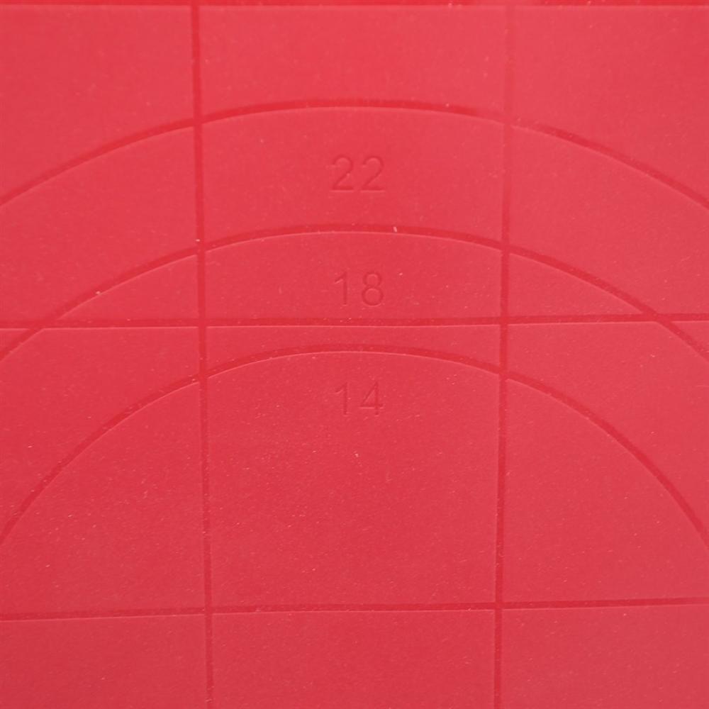 Tapete de Silicone 38 x 27 cm (Folha Antiaderente) - Yangzi  - Lojão de Ofertas