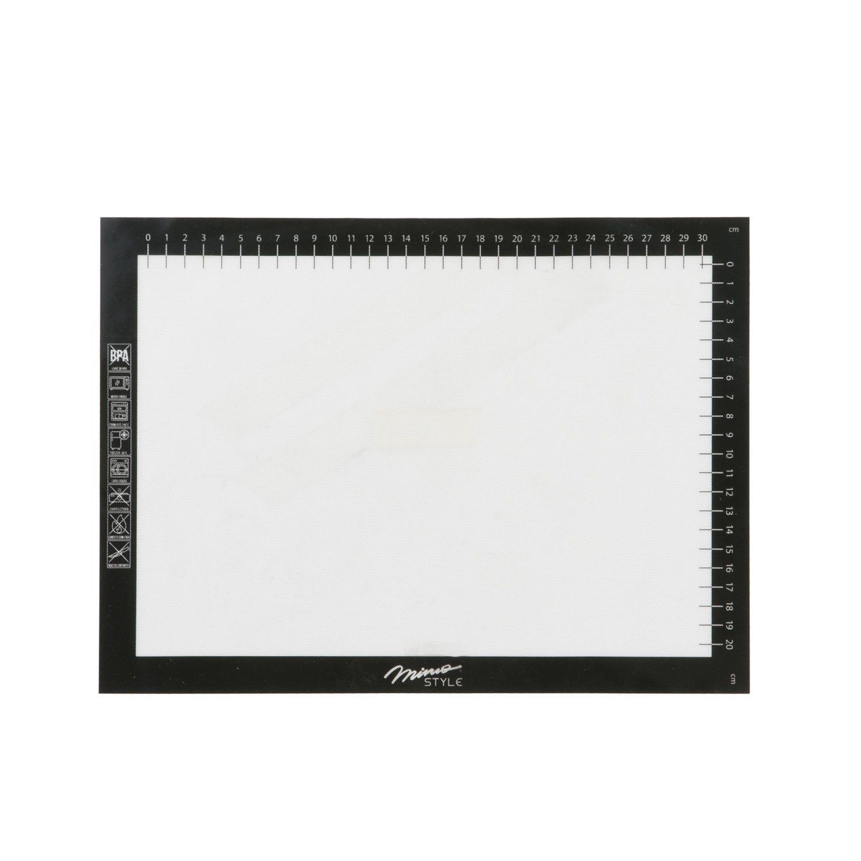 Folha de Silicone / Fibra Vidro Antiaderente 35 x 25 cm - Mimo Style  - Lojão de Ofertas