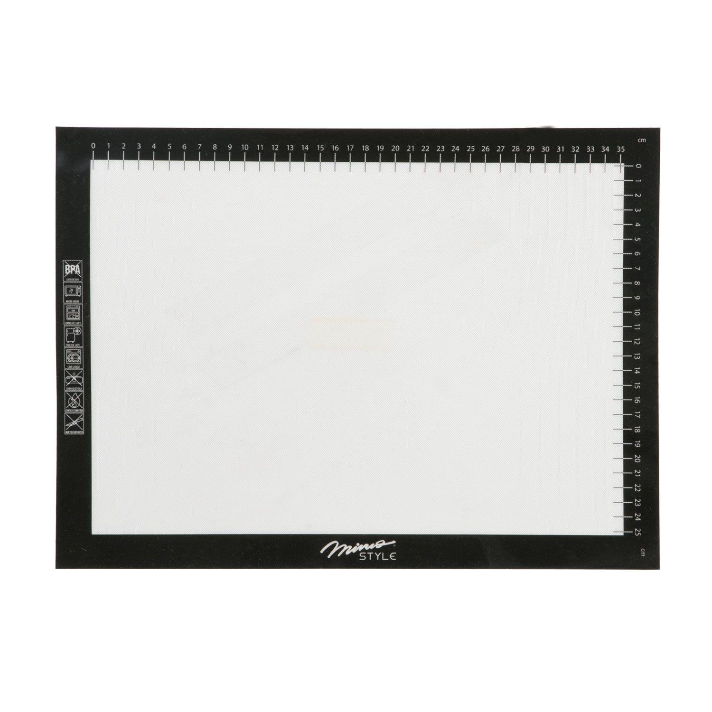 Folha de Silicone / Fibra Vidro Antiaderente 40 x 30 cm - Mimo Style  - Lojão de Ofertas