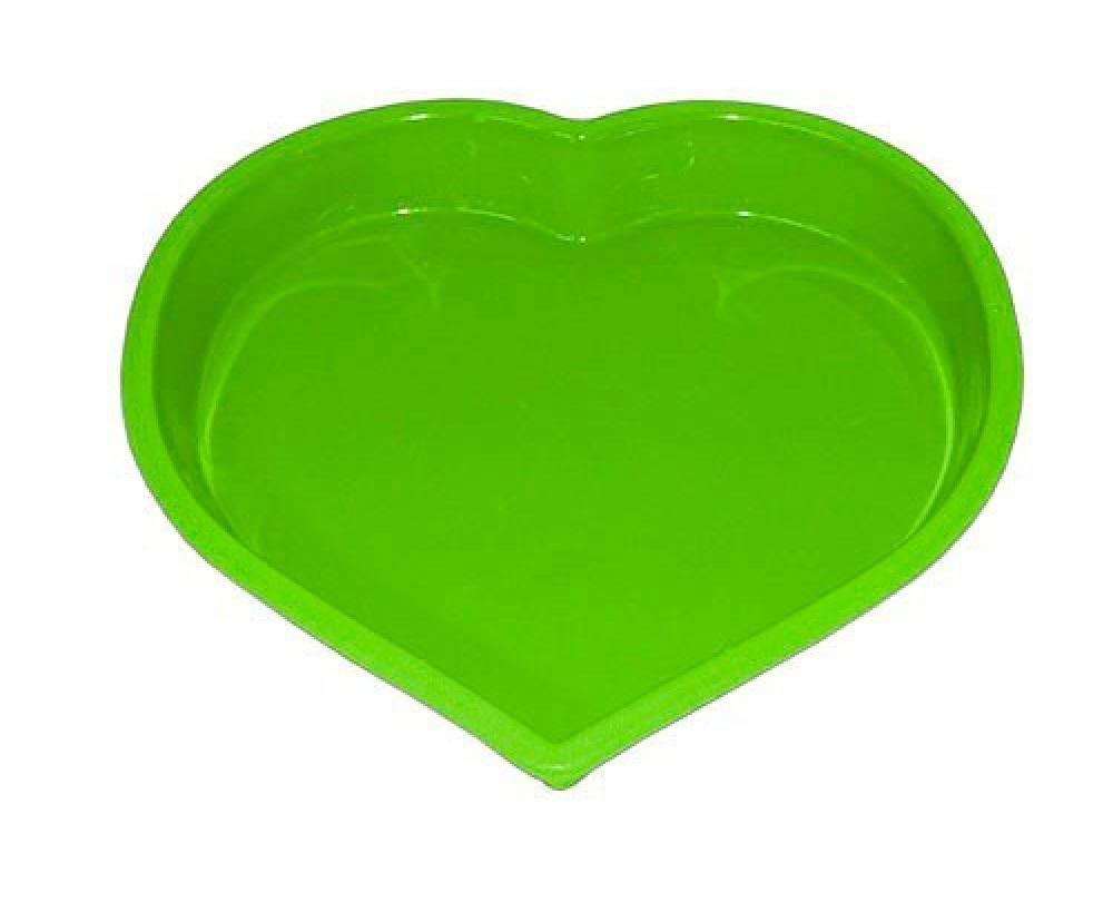 Forma Coração de Silicone 24,6 cm - Hercules  - Lojão de Ofertas